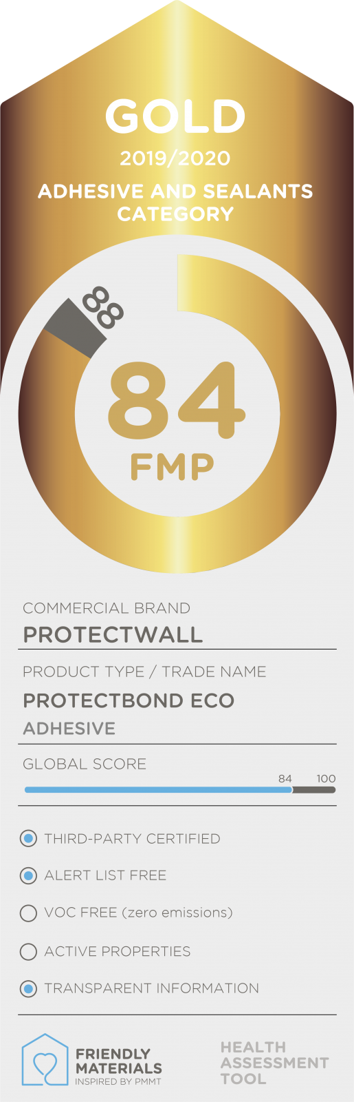 Protectbond Eco gold 84