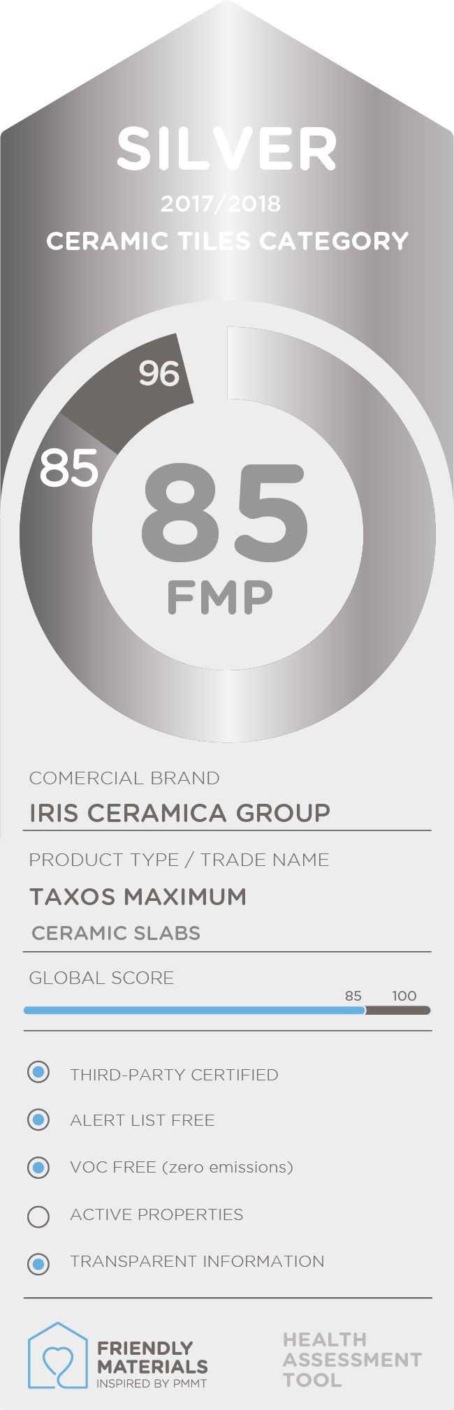 Taxos Maximum silver 85