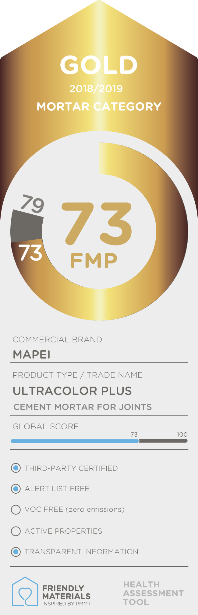 Ultracolor Plus gold 73