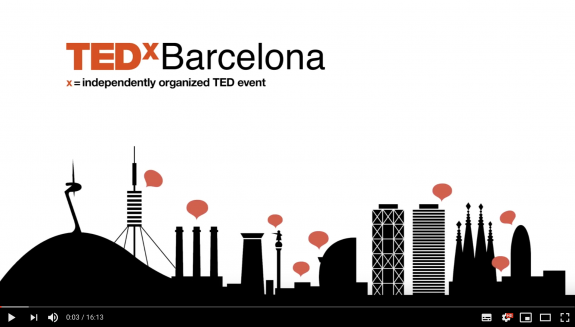 Video at TEDxBarcelona 'How do materials affect the air we breath'